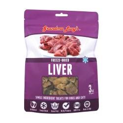 Singles Freeze Dried Liver Dog Treat 3oz