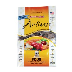 Artisan Bison Freeze Dried Dog Food 3lb