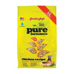 Pureformance Chicken Freeze Dried Dog Food 3lb