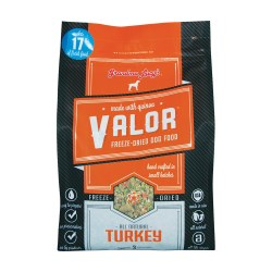 Valor Turkey Freeze Dried Dog Food 10lb