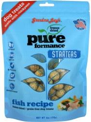 Starters Pureformance Fish Freeze Dried Dog Treats 6oz