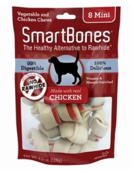 Classic Chicken Chew Dog Bone Mini 8ct