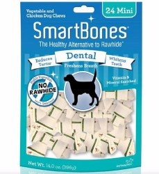 Dental Formula Chew Dog Bone Mini 24ct