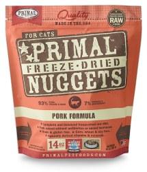Nuggets Pork Formula Raw Freeze Dried Cat Food 14oz