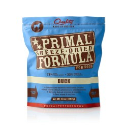 Nuggets Duck Formula Raw Freeze Dried Dog Food 14oz
