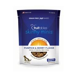 Skinny Minis Pumpkin Berry Flavor Soft and Chewy Dog Treat 5oz