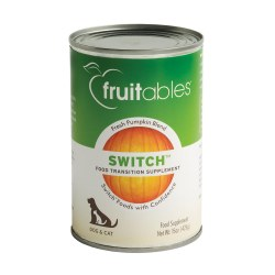 Switch Pet Food Transition Fresh Pumpkin Blend Canned Dog and Cat Supplement 15oz