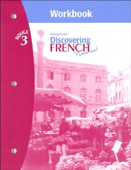 DISCOVERING FRENCH 3 WORKBOOK W/ VOCAB