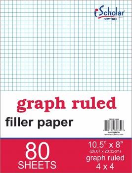 GRAPH PAPER 80 SHEETS