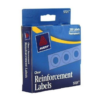 PAPER REINFORCEMENTS 200 CT
