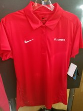 CLOSE OUT WOM  POLO RED MED