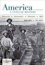 AMERICA CONCISE HISTORY VOL I