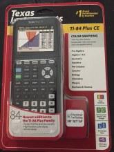 CALCULATOR TI-84 PLUS CE BLACK