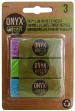 ERASER ONYX 3PACK