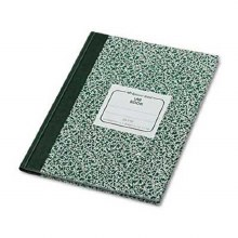 LAB BOOK GREEN SPECKLED