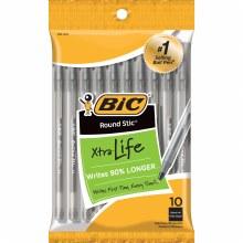 PEN BIC ROUND STICK BLACK EXTRA-LIFE