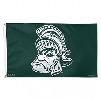 Michigan State University Fag - Gruff College Vault Flag - Deluxe 3' X 5'