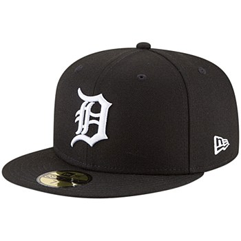 New Era Detroit Tigers Black Home Authentic Collection On-Field Logo 59FIFTY Fitted 7 1/4 Hat