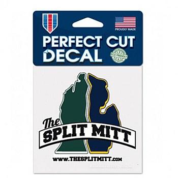 The Split Mitt Perect Cut Decal 4'' x 4''