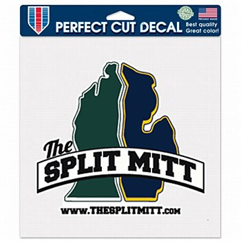 The Split Mitt Perfect Cut Decal 8'' x 8''