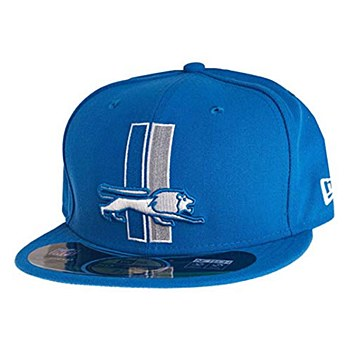 New Era Detroit Lions On Field Classic 59FIFTY Football Structured Fitted 7 3/8 Hat