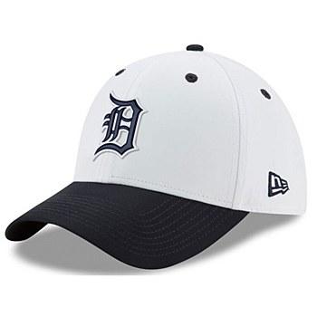Detroit Tigers New Era On-field Prolight Batting Practice 39Thirty Large -XLarge White 2018