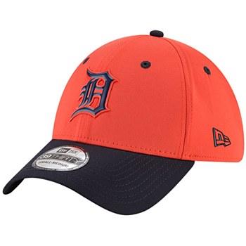 Detroit Tigers New Era On-field Prolight Batting Practice 39Thirty Medium-Large Orange 2018