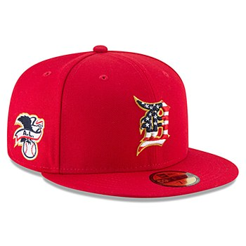 Detroit Tigers New Era 2018 Stars & Stripes 4th of July On-Field 59FIFTY Fitted Hat – Red