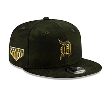 Detroit Tigers Armed Forces 9FIFTY Snapback 2019