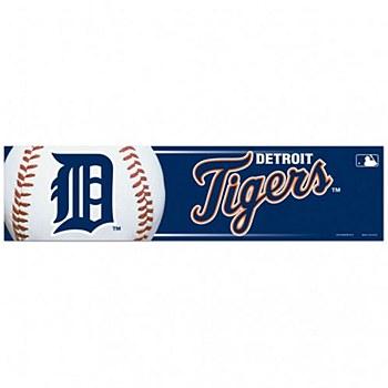 "Detroit Tigers Bumper Strip 3"" x 12"""
