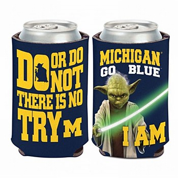 University of Michigan Coozi Can Cooler Yoda 12oz