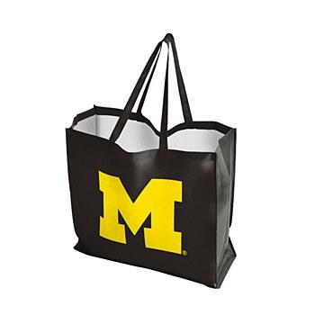 University of Michigan Bag - Reusable Tote 19.5'' x 7'' x 18''
