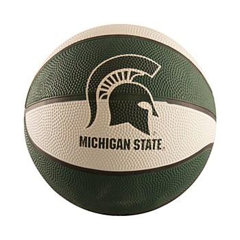 Michigan Sate University Mini Sized Rubber Basketball