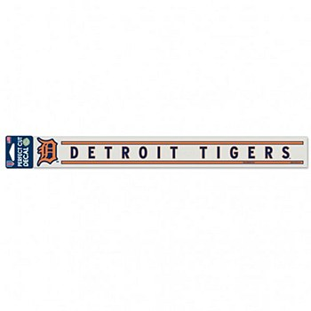 """Detroit Tigers Decal Perfect 2"""" x 17"""""""