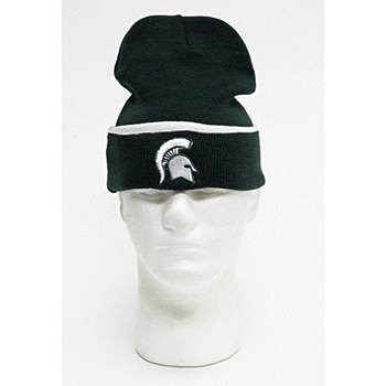 Michigan State University Hat - Spartans Men's University Cuffed Knit