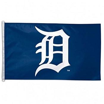 Detroit Tigers Flag Team Logo 3'' x 5''