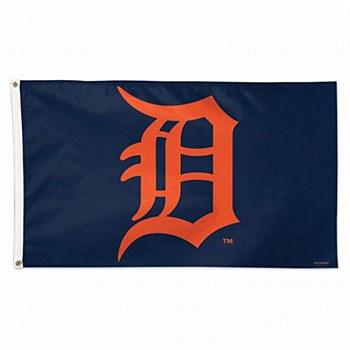 Detroit Tigers Flag Team Logo Deluxe 3' x 5'