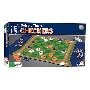 Detroit Tigers Checkers Board Game