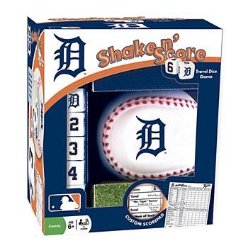 Detroit Tigers Game Shake 'n Score Travel Dice Game