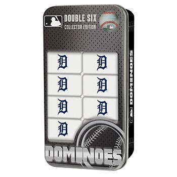 Detroit Tigers Game - Double-Six Dominoes