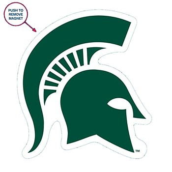 Michigan State University Magnet Die Cut