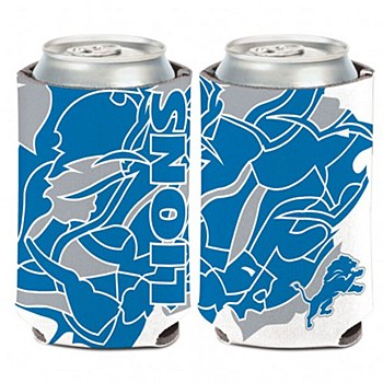 Detroit Lions Coozi Can Cooler NFLXFIT 12oz