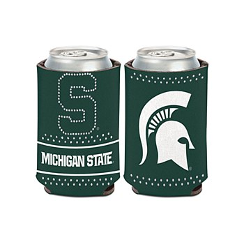Michigan State University Coozie Bling Can Cooler 12oz