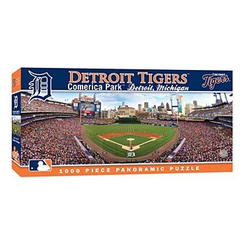 Detroit Tigers Puzzle - Comerica Park Panoramic 1000pc 13'' x 39''