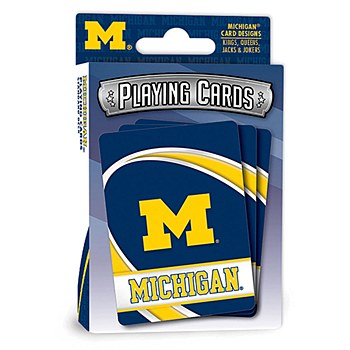 University of Michigan Playing Cards