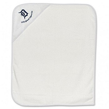 Detroit Tigers Baby Towel All Pro Hooded