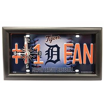 Detroit Tigers #1 Fan Clock