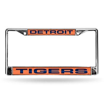 Detroit Tigers Laser Chrome Frame