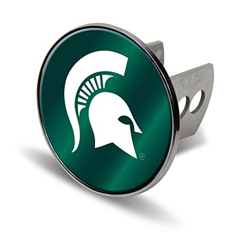 Michigan State University Hitch Cover Metal