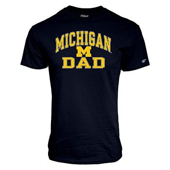 University of Michigan Dad Tamrac Tee Men's Medium